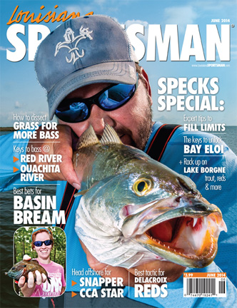 Greg Hackney Louisiana Sportsman cover