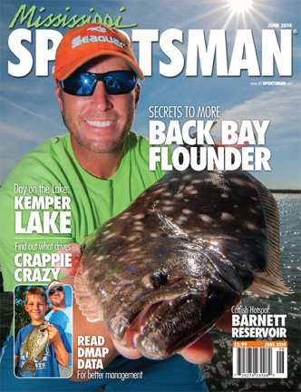 Flounder fishing cover - Mississippi sportsman