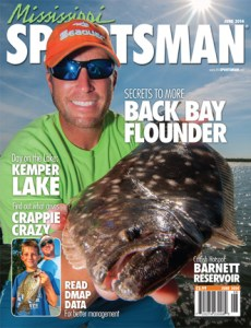 Flounder fishing magazine covers - Mississippi sportsman