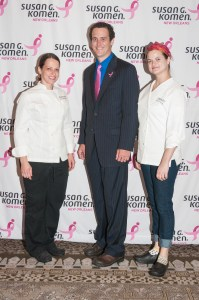 Susan G. Komen chef and sommelier