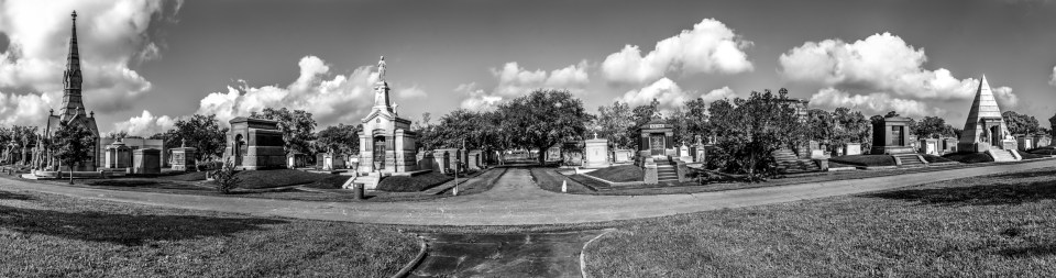 New Orleans panoramic photography