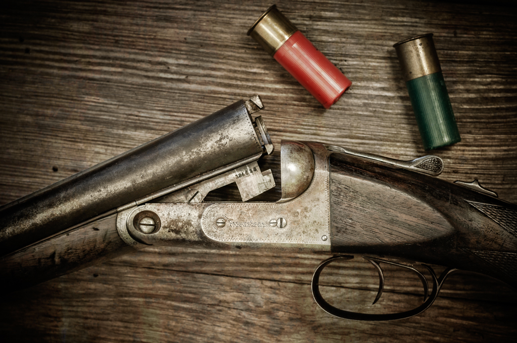 Parker Brothers shotgun photography