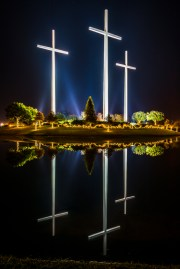 Baton Rouge's three crosses