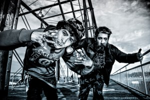 grunge street portraits