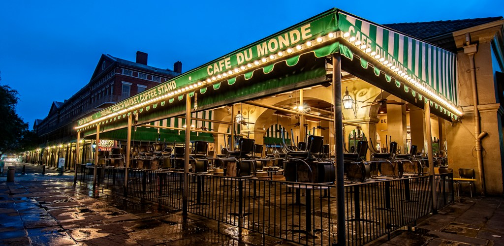 Cafe du Monde New Orleans print for sale
