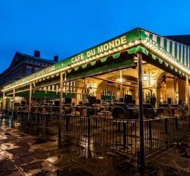 Cafe du Monde New Orleans print for sale