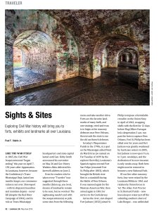 Fort Pike photography featured in Louisiana Life magazine