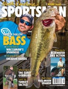 North Carolina Sportsman magazine covers