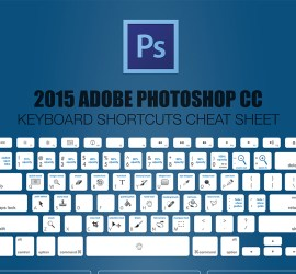 Free Photoshop cheatsheet download