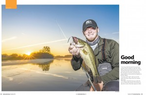 The final image was used in the September 2016 issue of Louisiana Sportsman.