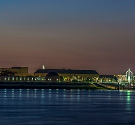 Baton Rouge Louisiana skyline photography