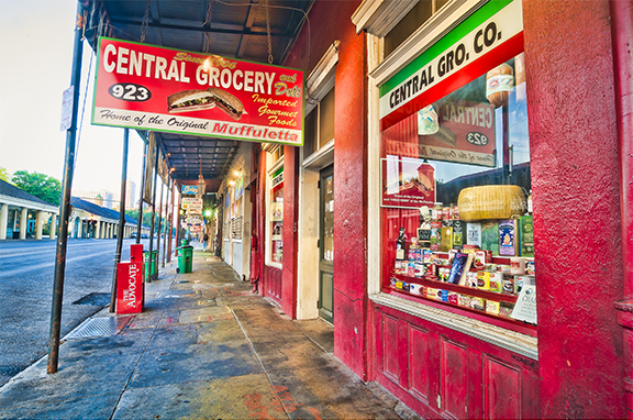 Central Grocery and Deli, New Orleans photography