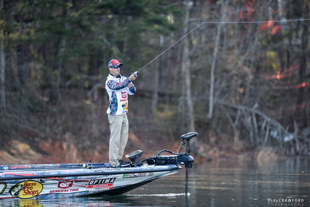 Edwin Evers in the 2018 Bassmaster Classic