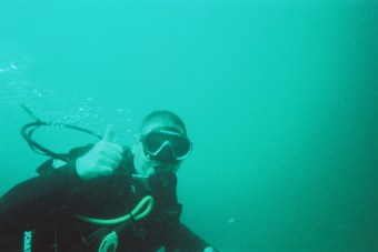 Qualified as PADI Open Water Diver in August and Advanced Diver in October