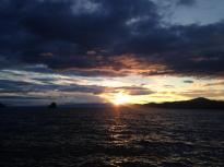 Lac Leman Sunset