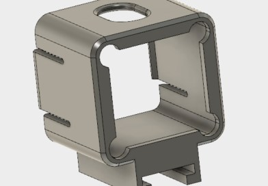3d printed Nerf Gun blaster Runcam S3 video camera mount