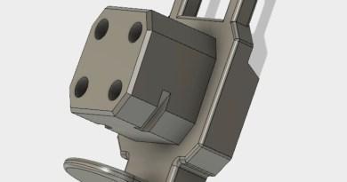Nerf AlphaStrike Flyte CS-10 N-Strike Stock Adapter
