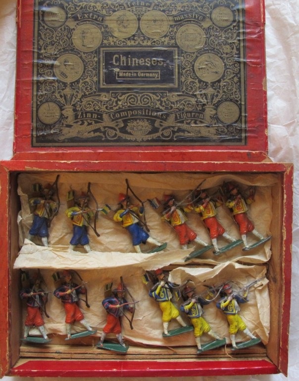 German made Chinese toy soldiers.