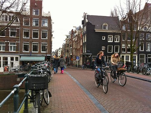 Amsterdam Runstraat canal bridge