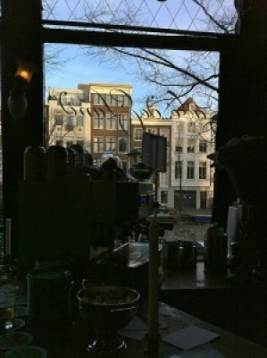 Cafe in Jordaan Amsterdam