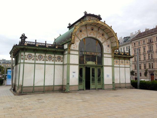 Karlsplatz U-Bahn Station by Otto Wagner