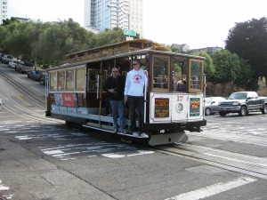 Hyde Street Cable Car San Francisco, July 2010