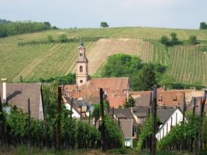 Riquewihr Alsace France, April 2007.