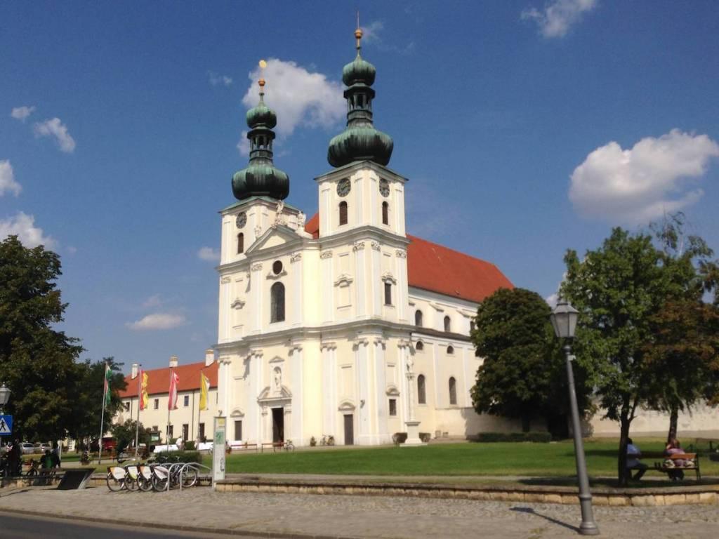 Photo of Frauenkirchen Church in Frauenkirchen, Burgenland Austria, August 2013.