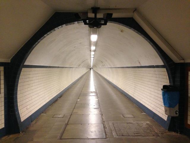 St Anna Pedestrian Bike Tunnel Antwerp