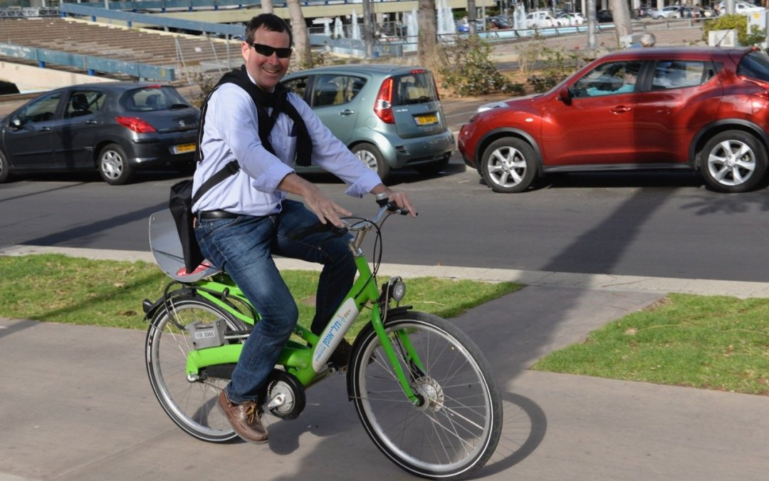 Tel-o-fun Bike Share Tel Aviv Yafo