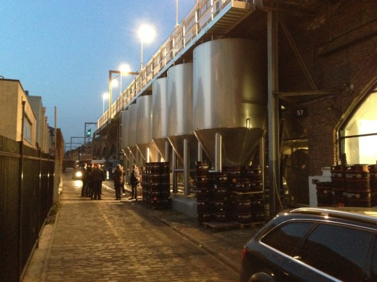 Photo of Camden Town Brewery London 2014 - Tour in progress.