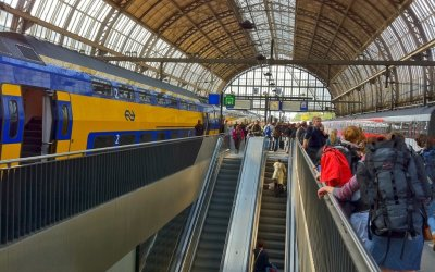 Strategies for Reducing Passenger Congestion in Rail Stations: European Case Study