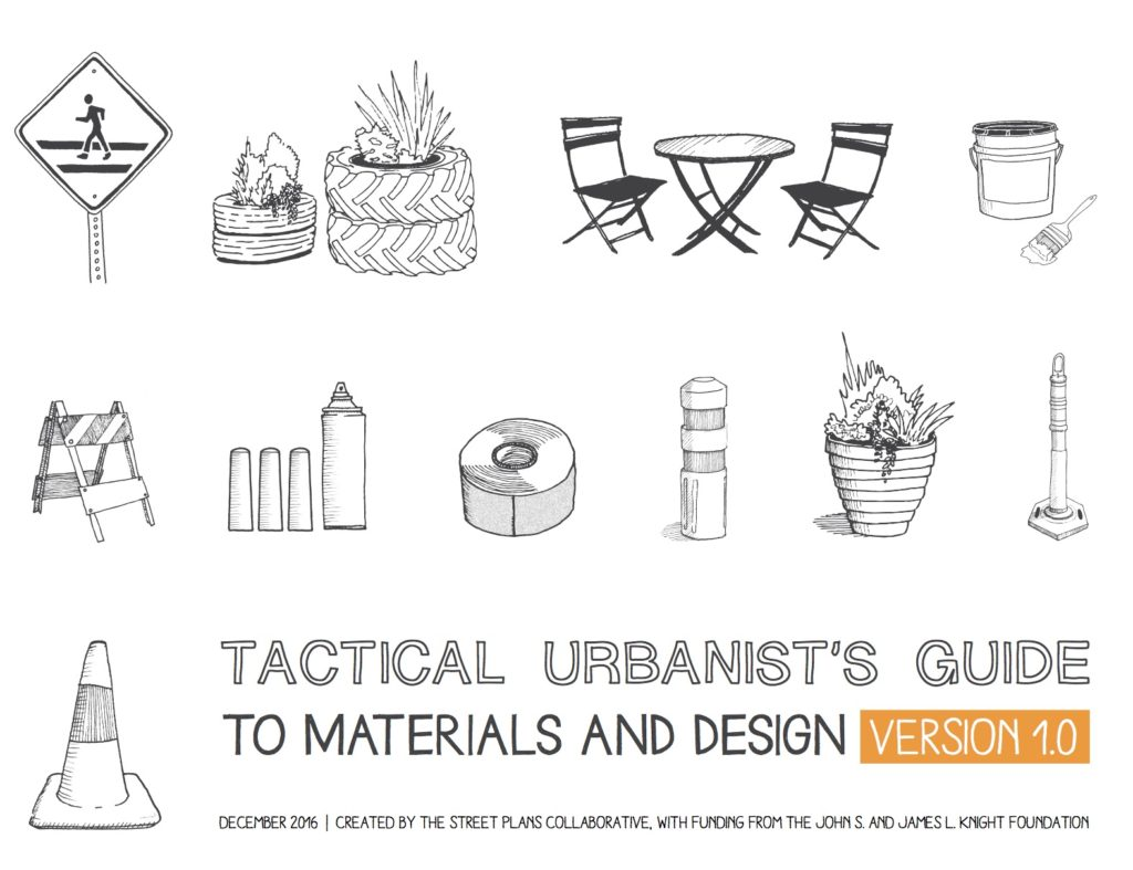Cover of book Tactical Urbanists Guide to Materials and Design (2016).