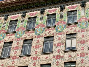 Photo of facade of Linke Wienzeile 40 Vienna