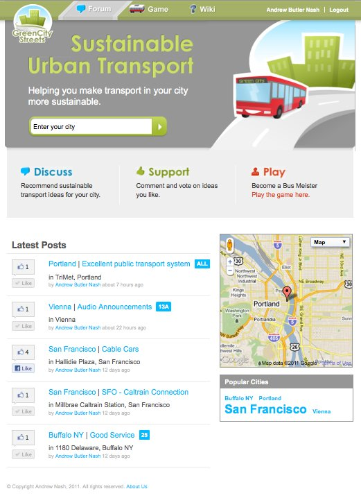BusMeister Forum screenshot