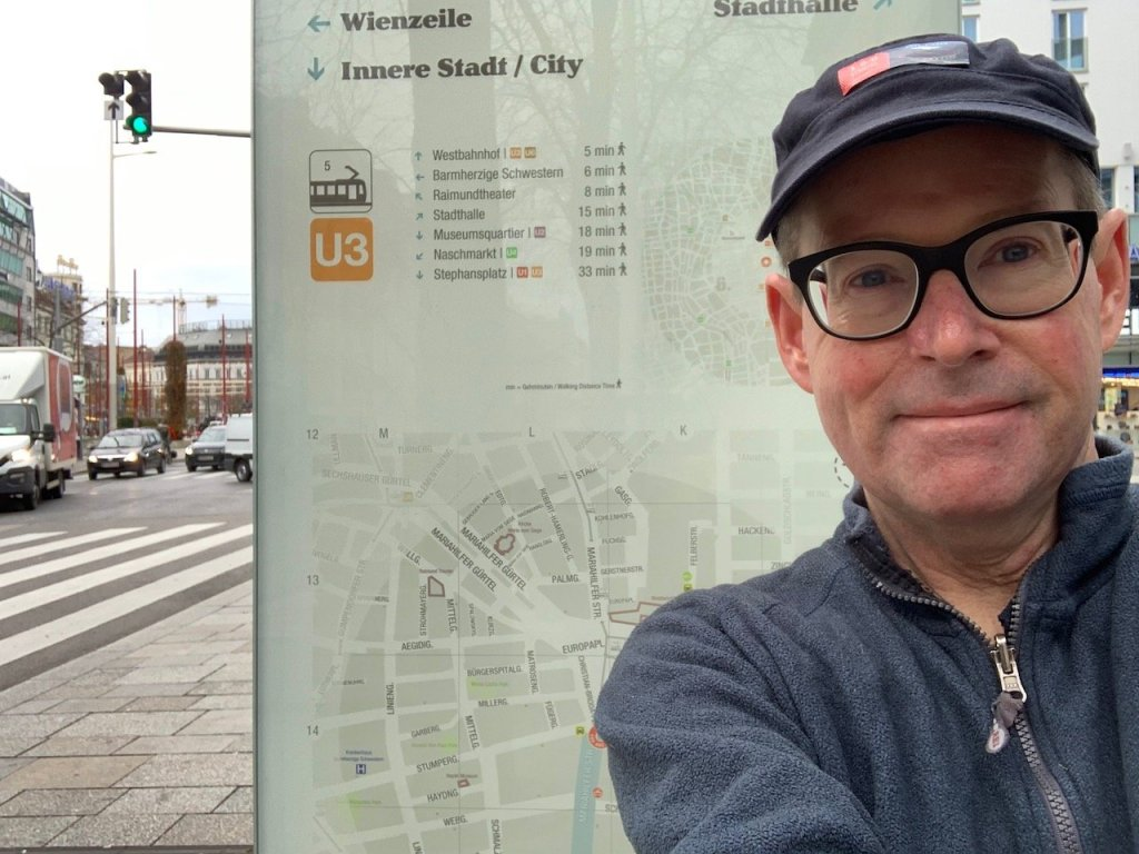 Photo of Andrew Nash on Mariahilfestrasse Vienna