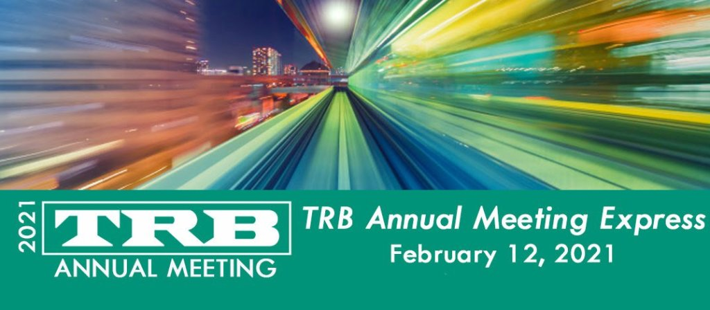 TRB Annual Meeting 2021 Logo graphic