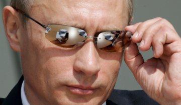 Vladmir Putin - on many shoes!