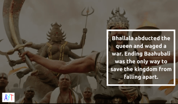 And you thot you knew why Kattappa killed Baahubali