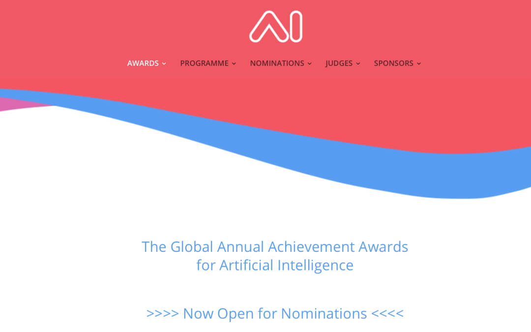 Announcing the AI Awards 2018 Now Open for Initial Nominations