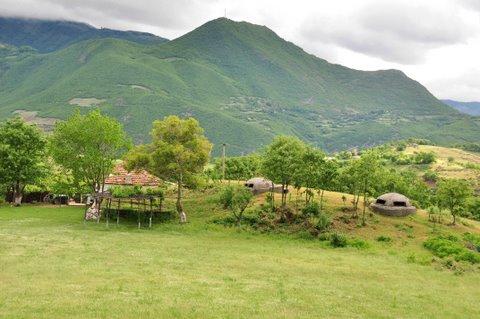 Albanian mountain range