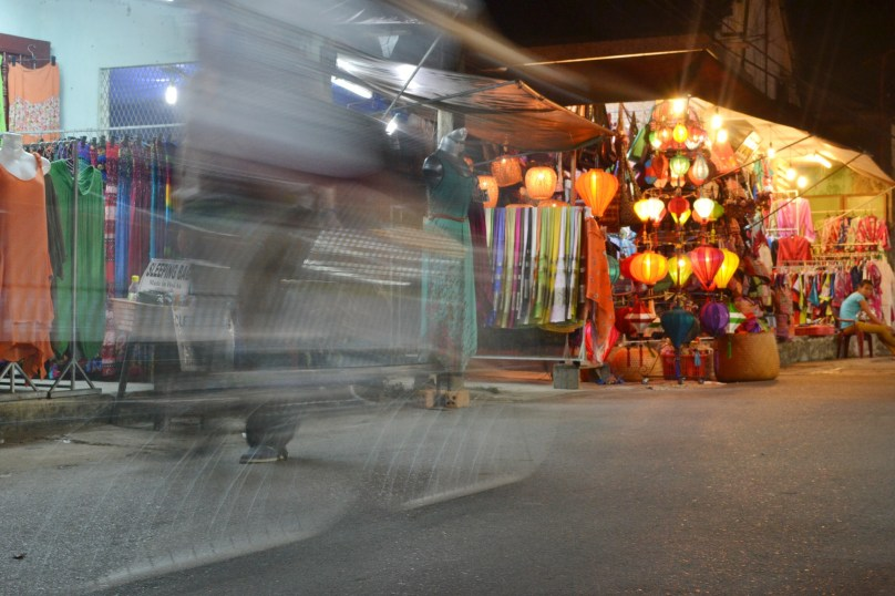 Lanterns are a top selling souvenir in the old town.