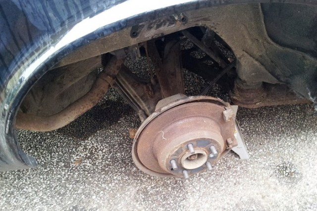 1990 jaguar sovereign rear brakes
