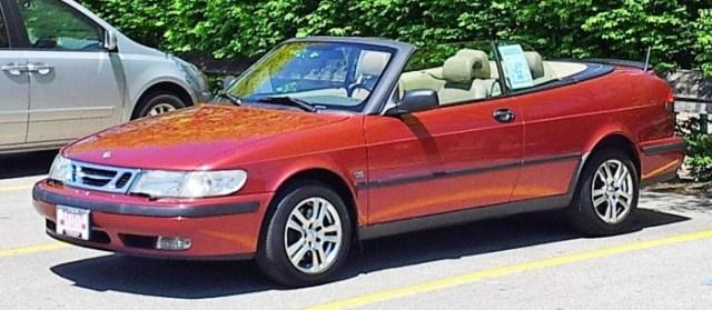 99 SAAB 9-3 convertible