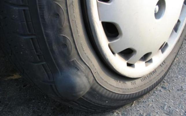 tire-bulge
