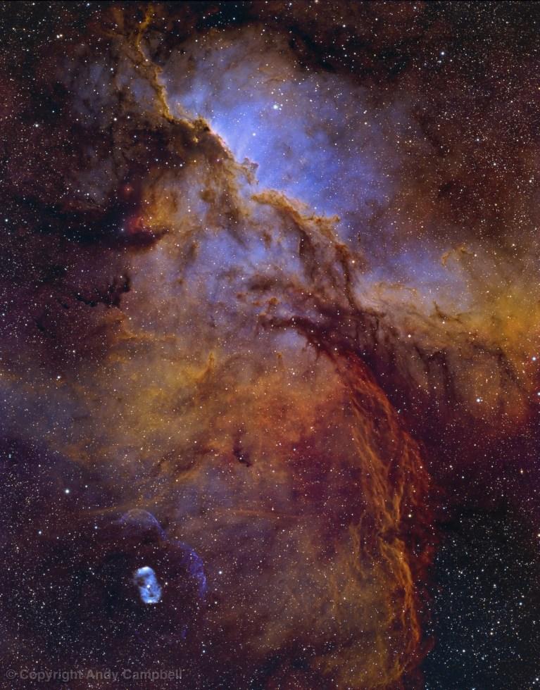 QSI6162_NGC6188_Fighting_Dragons of Ara nebula in narrowband