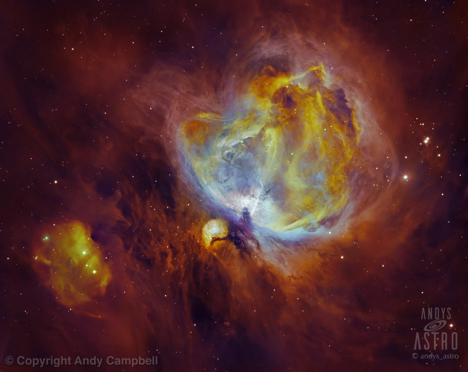 M42 Nebula narrowband