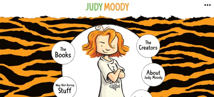 Author website example 5