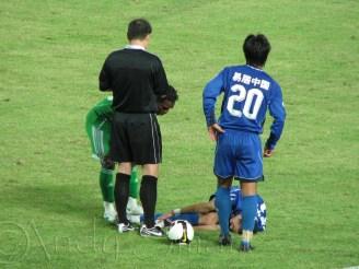 Red Card - Beijing Goan FC vs Shanxi Zhongxin