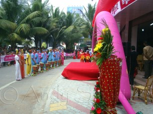 Supermarket Opening Ceremony - Jinghong, Yunnan Province